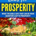 12 undeniable laws for prosperity