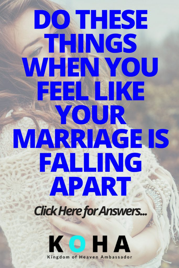 marriage is falling apart
