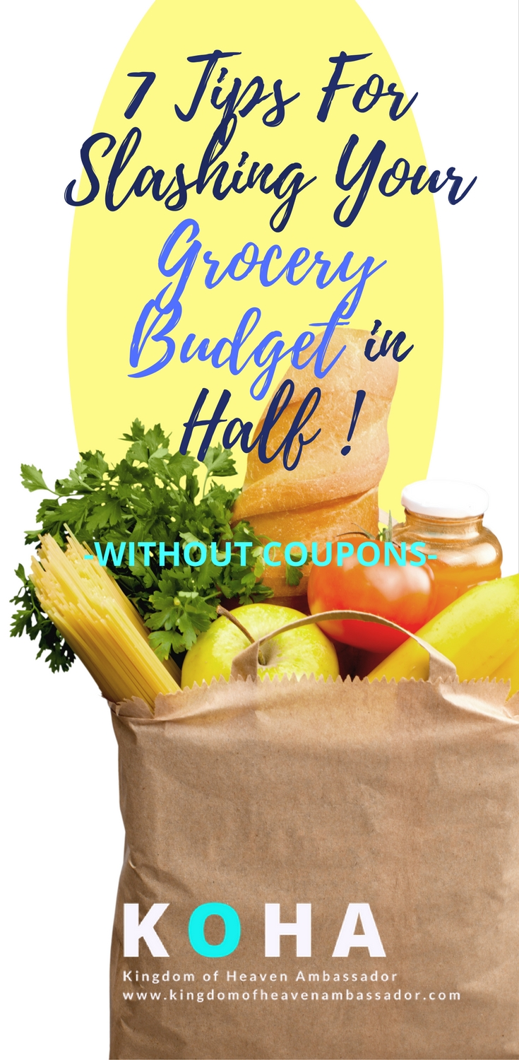 cut grocery budget