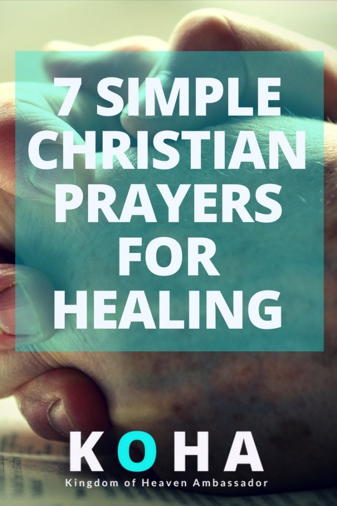 simple christian prayers