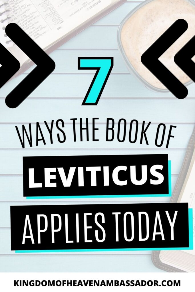 How does Leviticus apply to life today - Featured image